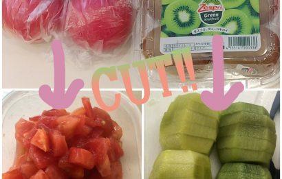 買い物代行→簡単な調理、承ります♪